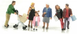 Bachmann Scenecraft 36-046: OO Scale Shoppers (6)